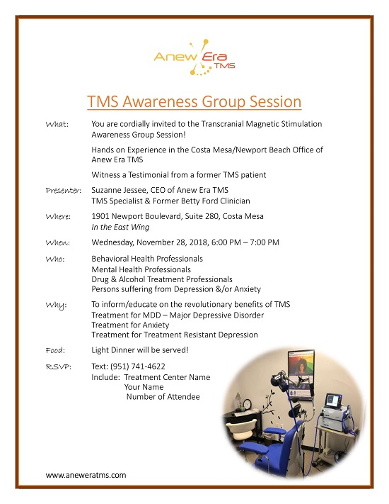 TMS Awareness Group Session November